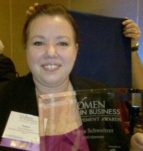 Women in business award